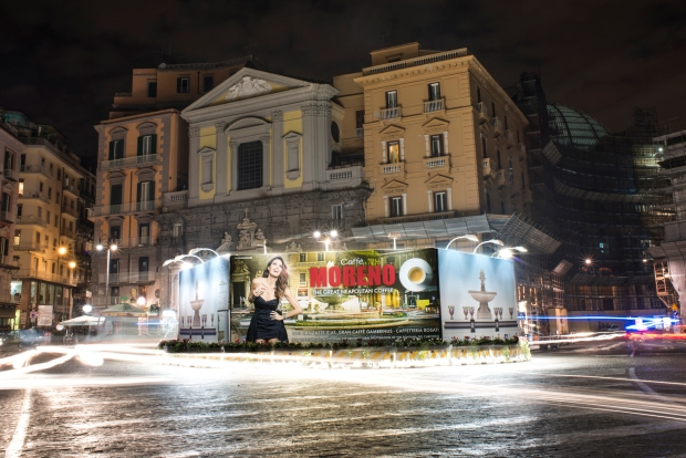 La fontana dal Caffè Gambrinus